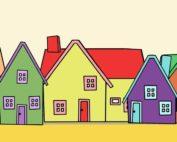 Häuserzeile