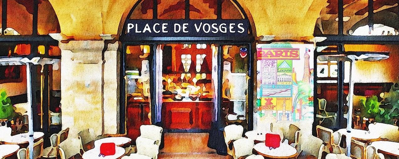 Französisches CafÉ